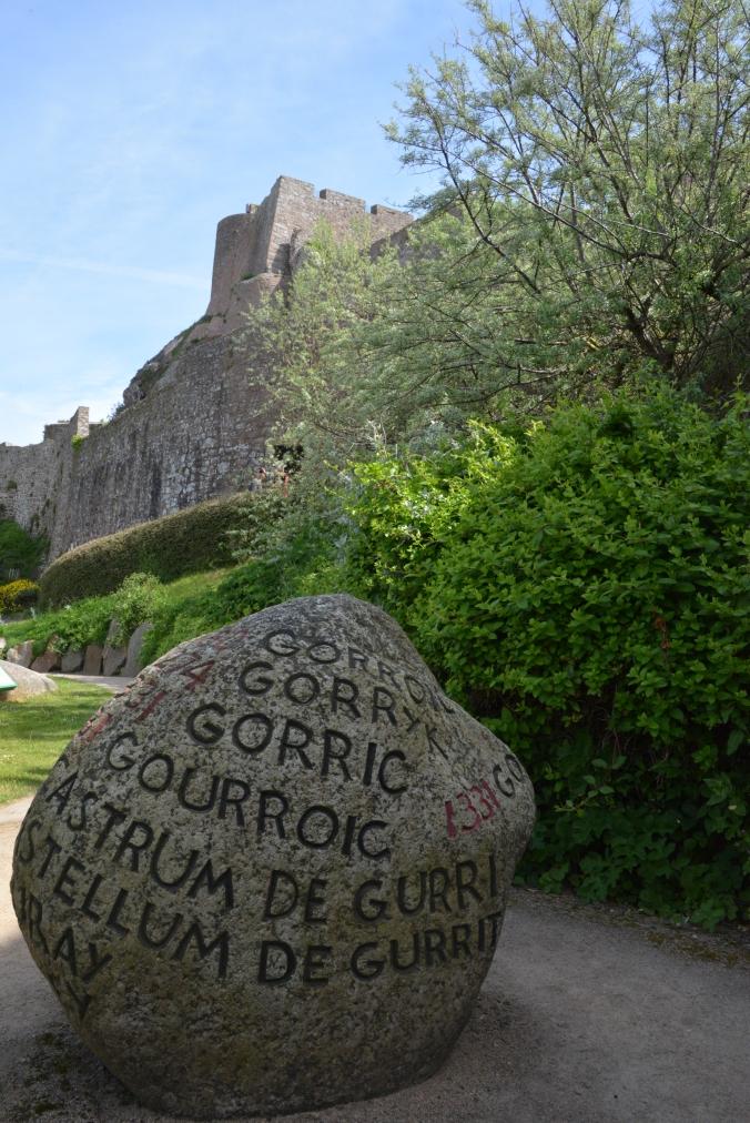 Gorey Castle Stone